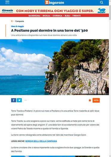 zingarate.com article on Torre Trasita
